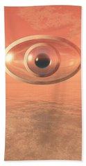 Impossible Eye Beach Sheet