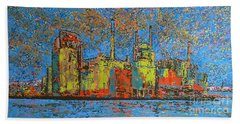 Impression - Irving Mill Beach Towel