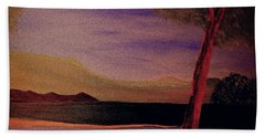 Impression Of Dawn Beach Towel by Bill OConnor