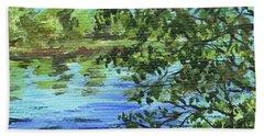 Impressionistic Landscape IIi Beach Towel