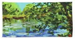 Impressionistic Landscape Vi Beach Towel