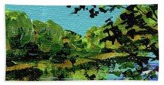 Impressionistic Landscape Vii Beach Towel