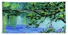 Impressionistic Landscape Xxi Beach Towel