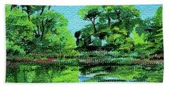 Impressionistic Landscape Xxiii Beach Towel
