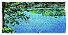 Impressionistic Landscape Xxv Beach Towel