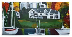 Impressions Of New England Two Beach Towel