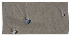 Imprints Of Waves Beach Towel