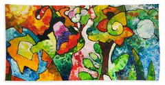 In Bloom Beach Towel by Sally Trace