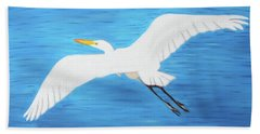Beach Towel featuring the mixed media In Flight Entertainment by Deborah Boyd