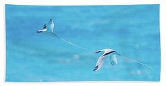 In-line Formation Flying Beach Towel
