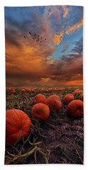 In Search Of The Great Pumpkin Beach Towel