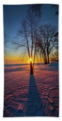 Beach Towel featuring the photograph In That Still Place by Phil Koch