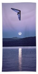 In The Air Tonight Beach Towel