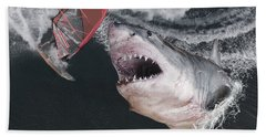 In The Face Of Fear Beach Towel