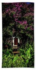 In The Garden - The Hermitage Beach Towel