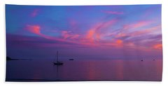 In The Gloaming Beach Towel
