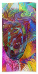 In The Light Beach Towel by Kevin Caudill