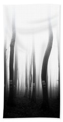 In The Misty Forest Beach Towel
