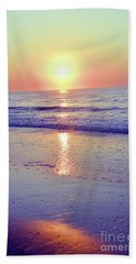 In The Morning Light Everything Is Alright Beach Towel