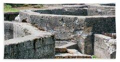 In The Ruins 6 Beach Towel
