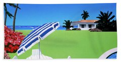 In The Shade Beach Towel