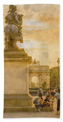 Paris, France - In The Shadow Of Glory Beach Towel