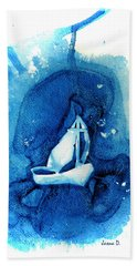 In The Storm Beach Towel