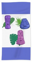 In The Tiki Room Beach Sheet by Whitney Morton