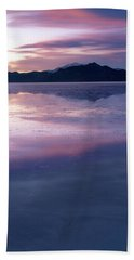 Beach Sheet featuring the photograph In The Wake Of Day by Dustin LeFevre