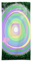In Wonderland Beach Towel