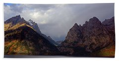 In Your Mountains I Find Strength Beach Towel