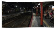 Inari Station, Kyoto Japan Beach Towel