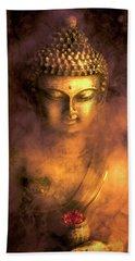Beach Sheet featuring the photograph Incense Buddha by Daniel Hagerman