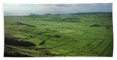 Incide The Bowl Terceira Island, Azores, Portugal Beach Sheet