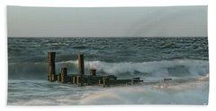 Incoming Beach Sheet by Nicki McManus