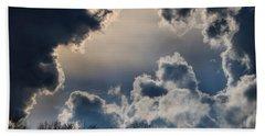 Incredible Clouds Beach Sheet