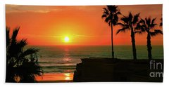 Incredible Sunset View Beach Towel
