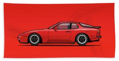 India Red 1986 P 944 951 Turbo Beach Towel