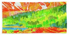 Indian Peaks Wilderness Beach Towel