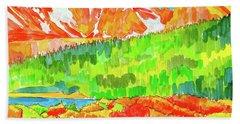 Indian Peaks Wilderness Beach Sheet