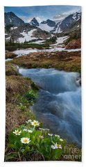 Beach Towel featuring the photograph Indian Peaks Wilderness by Steven Reed