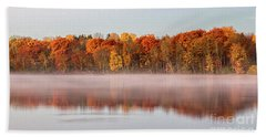 Indian Point Morning Beach Towel