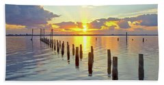 Indian River Sunrise Beach Towel