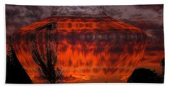 Beach Towel featuring the photograph Indian Summer Sunrise by Joyce Dickens