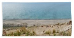 Beach Towel featuring the photograph Indiana Dunes National Lakeshore Evening by Kyle Hanson