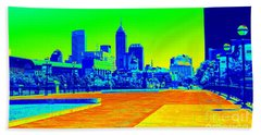 Indianapolis Heat Tone Beach Towel