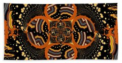 Indigenous Galaxy Beach Towel