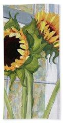 Indoor Sunflowers II Beach Sheet