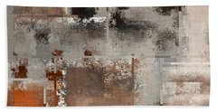 Industrial Abstract - 01t02 Beach Sheet by Variance Collections