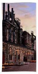 Industrial Landmark Beach Towel
